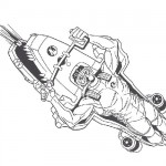 Action man coloring sheet