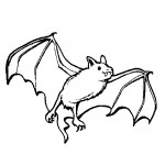 Bat coloring pages
