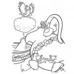 Disney Cinderella mice coloring page