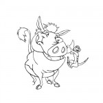 Lion King - Timon and Pumba coloring pages