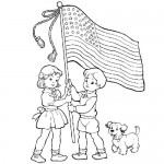 4-th of july coloring pages for kids