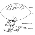 Ant carrying football