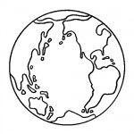 Earthday coloring page