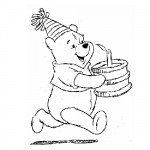 Happy b-day coloring pages