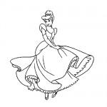 Princess coloring sheet