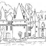 Rock castle coloring pages