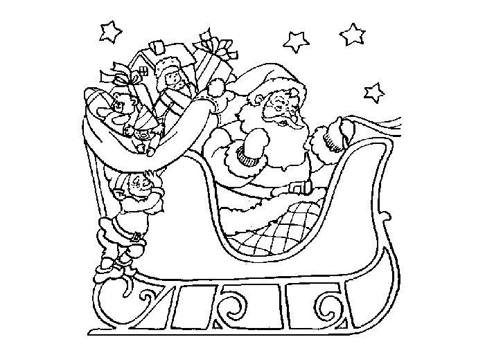 Christmas coloring pages - Coloring pages