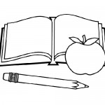 School coloring pages for kids