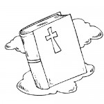 The bible coloring page
