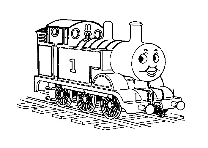 Trains coloring pages - Coloring pages
