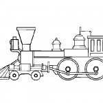 Train coloring sheets