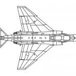 Warrior plane coloring page