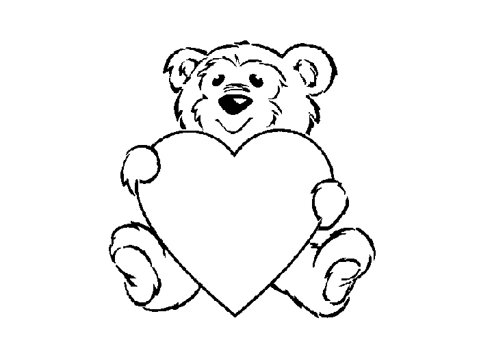 Teddy Bears Coloring Pages Coloring Pages