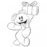 Teddy bears coloring pages for kids
