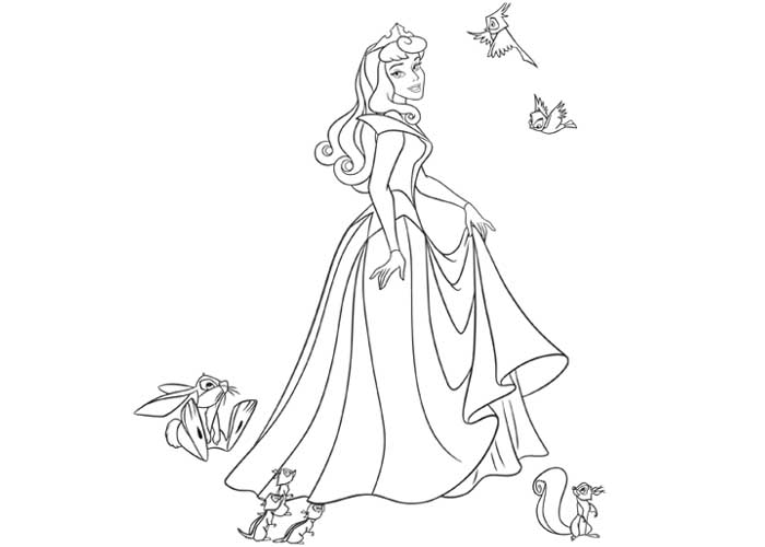 Aurora Coloring Pages Coloring Pages